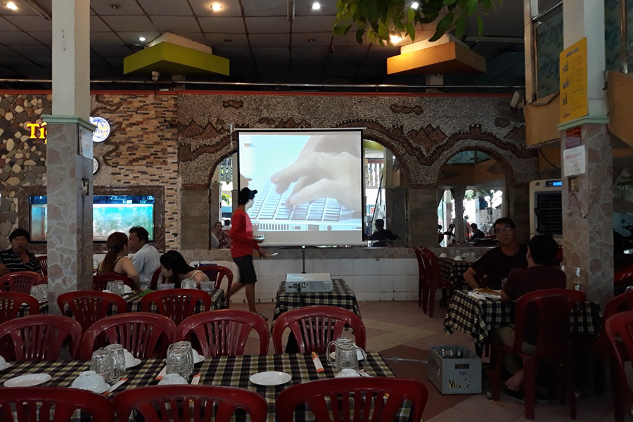 Cho thuê máy chiếu tại TP Vũng Tàu
